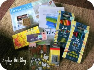 The Brown Rabbit's Art Supplies for Children Giveaway
