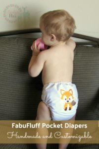 FabuFluff Pocket Diapers: Handmade and Customizable